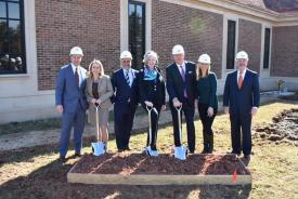Pettinaro Breaks Ground on New Montchanin Center Addition