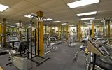 the fitness center at Village Park at Paladin