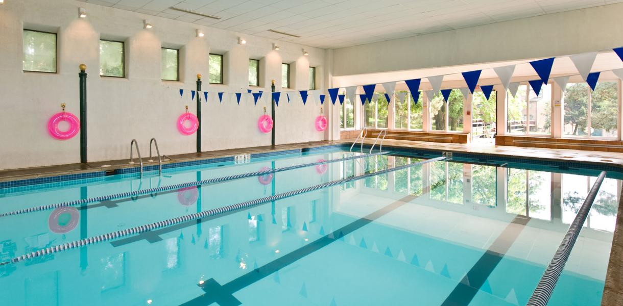 indoor pool at Village Park at Paladin