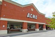 View of Acme Supermarket within London Grove Village Shopping Center