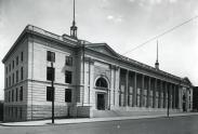 Outside of the Daniel L. Hermann Courthouse (1916)